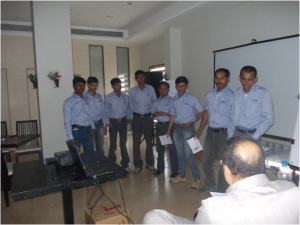 Case study Group presentations Integral part of training program